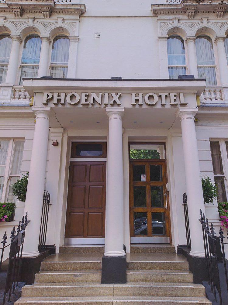 Phoenix Hotel London Front Door